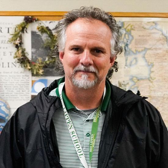 Ben Lippen teacher Joel Benefield