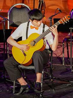 Hongkai as a Soloist Guitarist