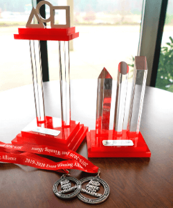 Robotics State Trophies and Medals